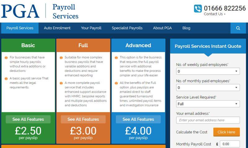 PGA Payroll Services